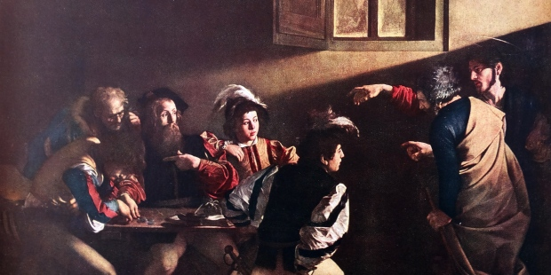 la vocation de st mathieu caravage