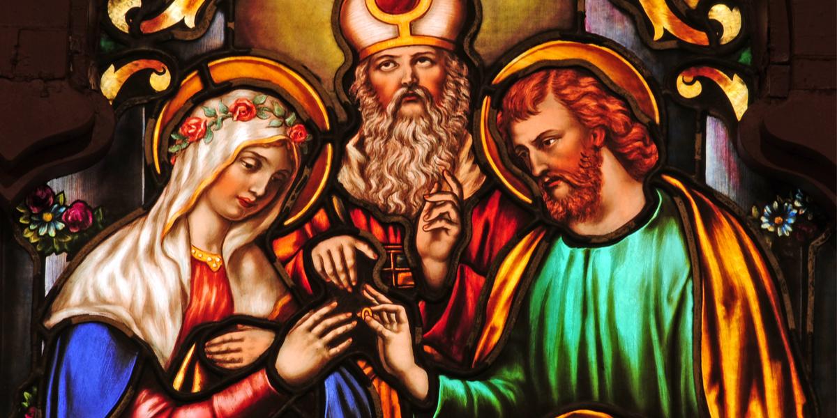 Mariage de Joseph et Marie