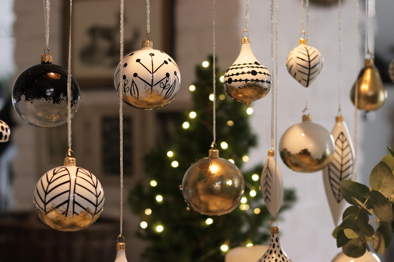 Décorations de Noël souffleés