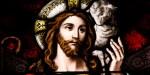 Jésus en bon pasteur