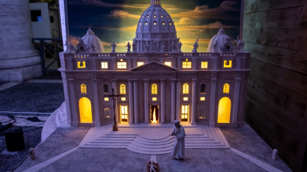 crèche vaticane