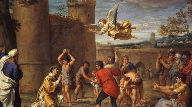 Martyrdom of saint Stephen