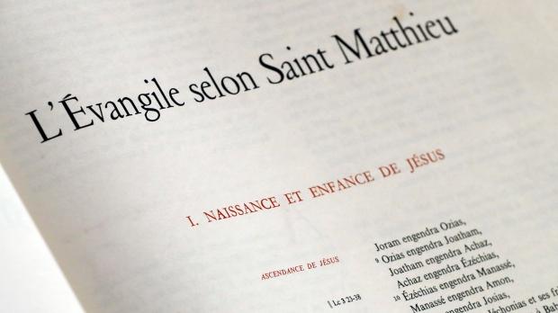 Evangile de st matthieu