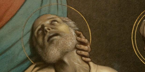 mort de saint joseph