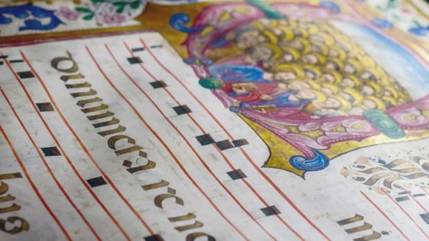 manuscrit chant grégorien