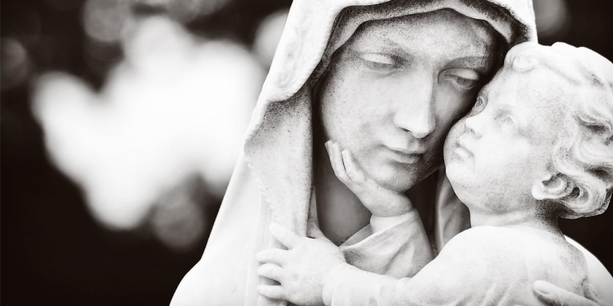 vierge marie avec jésus