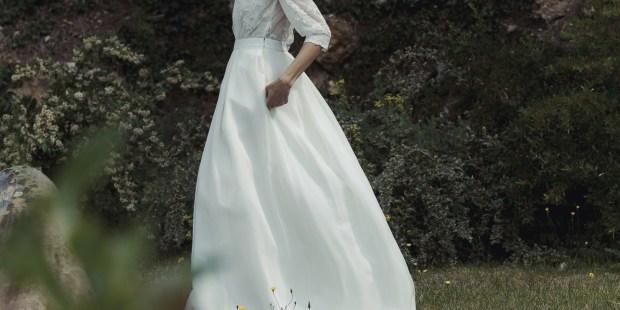 Robes de mariée de Laure de Sagazan : collection 2021