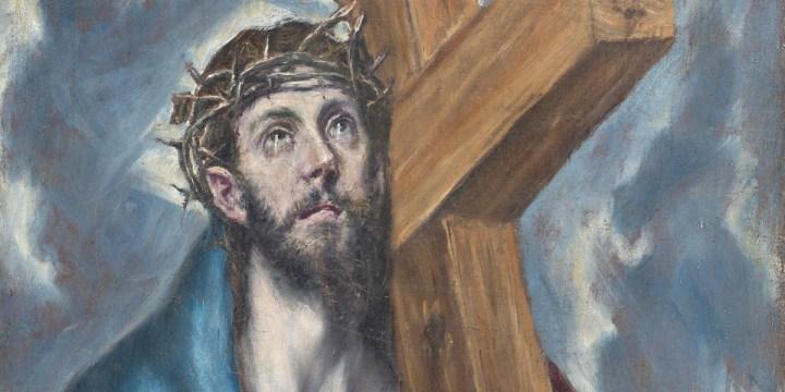 Christ avec la croix du Greco