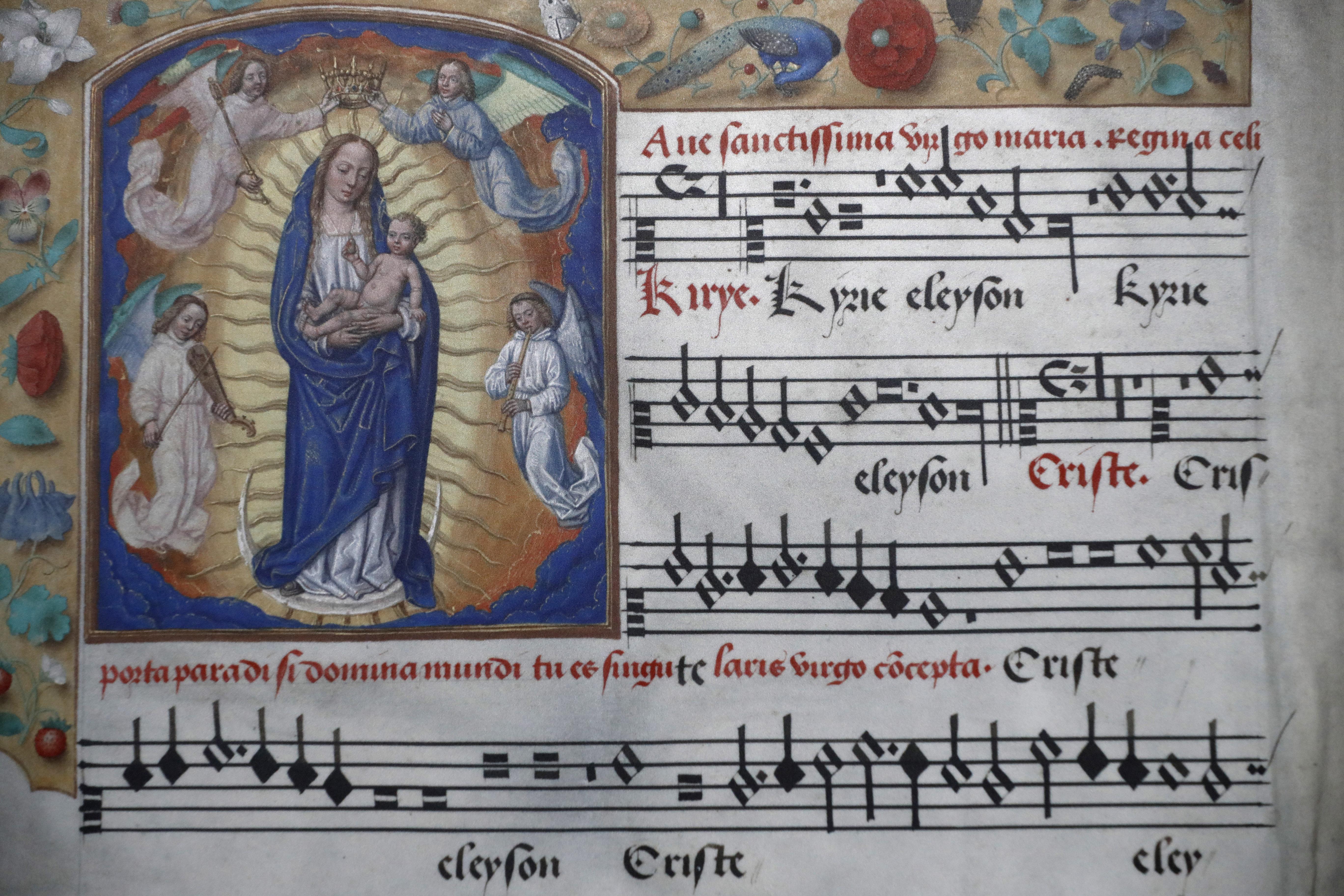 manuscrit musique bourg en bresse