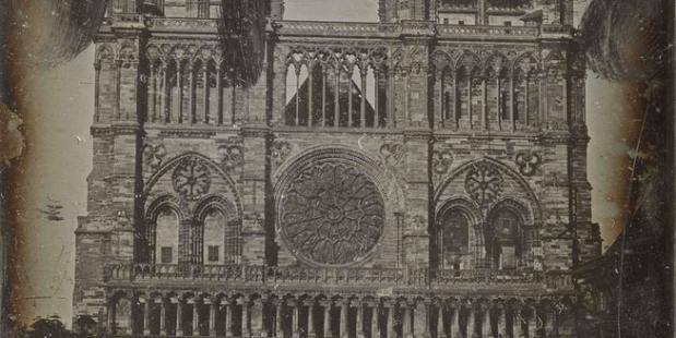 Les plus vieilles photos de Notre-Dame de Paris