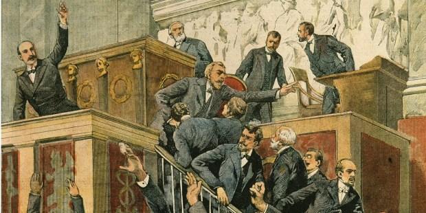 Dispute à la chambre des députés