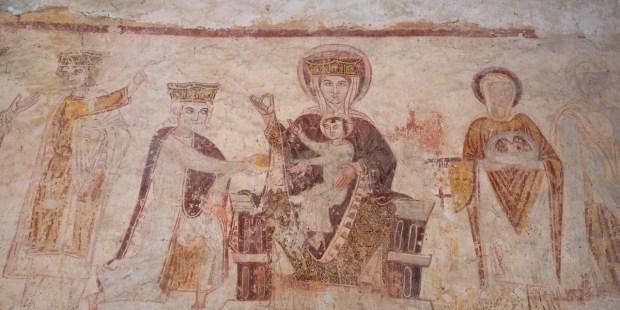 Fresques de Asnières-sur-Vègre