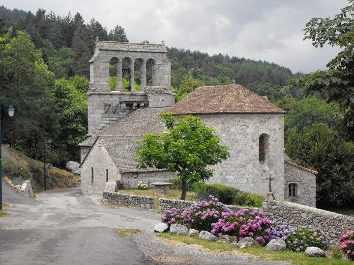 église de concoules