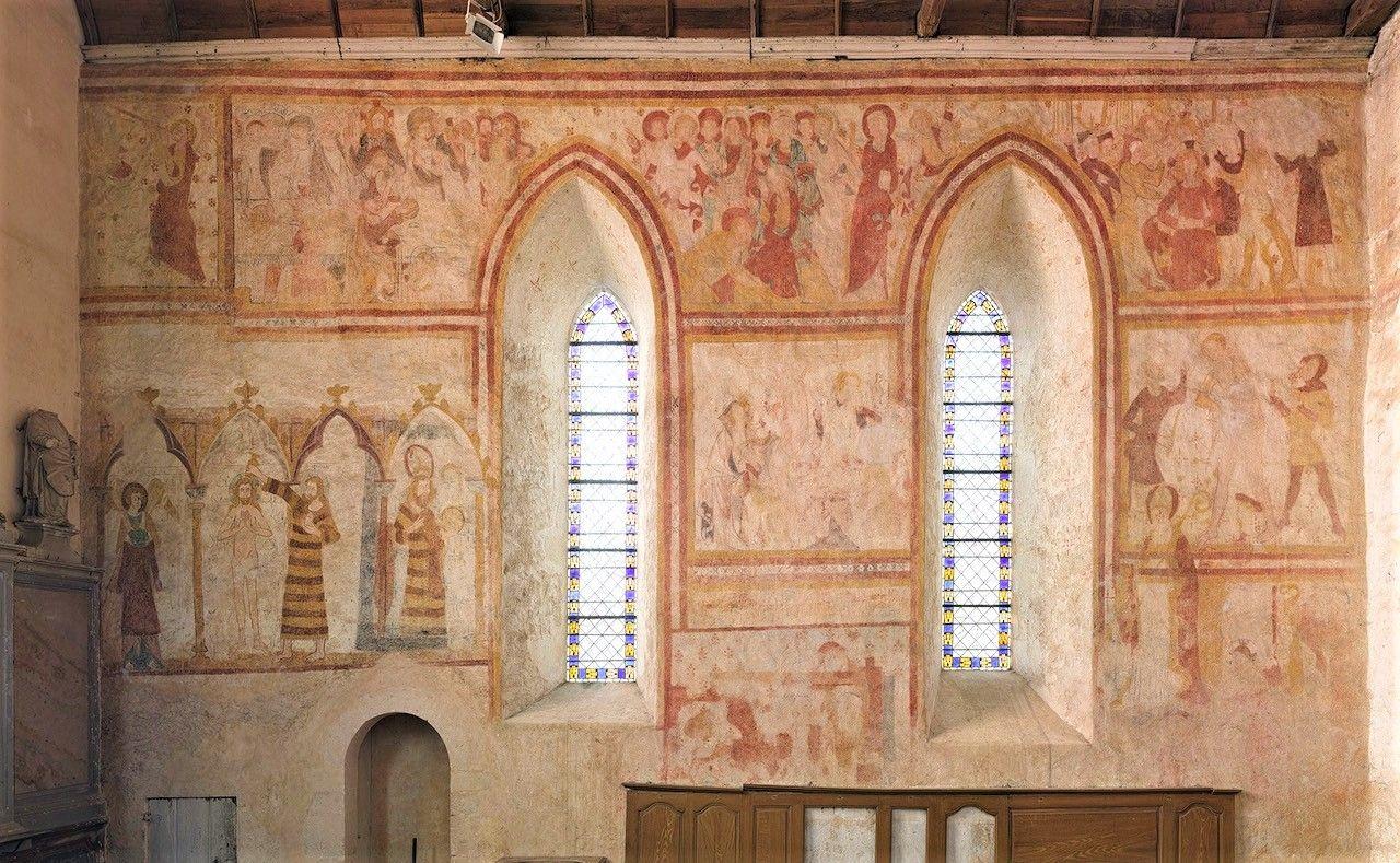 fresques Asnières-sur-Vègre