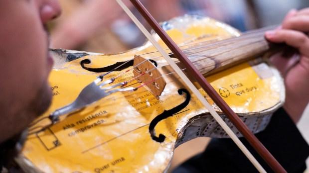 orchestre recyclé