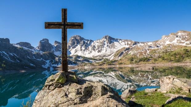 Croix du Lac d'Allos