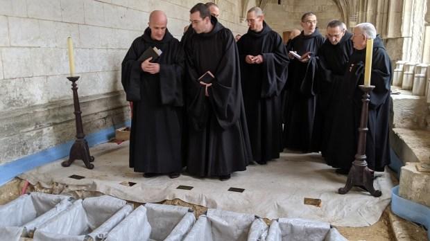 moines de saint wandrille
