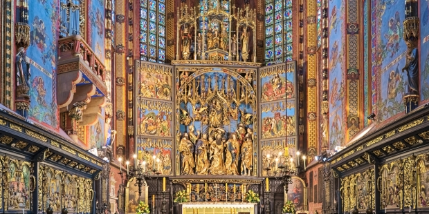 retable sainte marie de cracovie