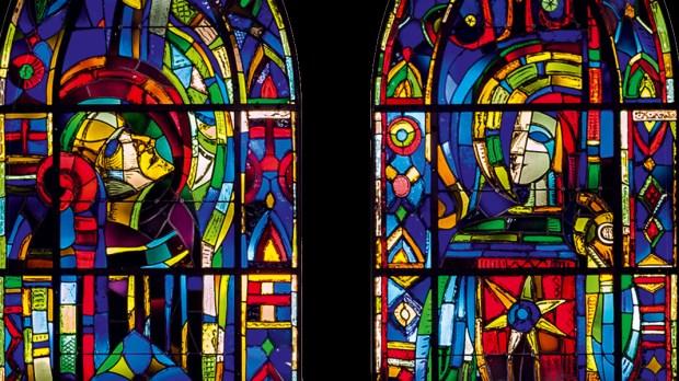vitraux de Mazetier