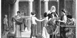 Roman patrician and slave