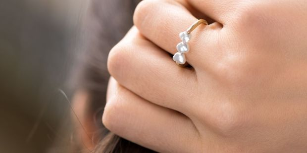 White Bird ring