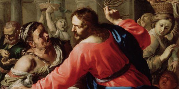 jésus chasse du temple