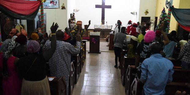 Eglise Nigeria / Lagos