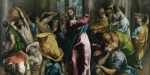 Jésus chasse les vendeurs du temple