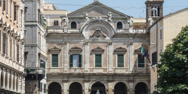 Diapo : basilique Saint-Eusèbe à Rome