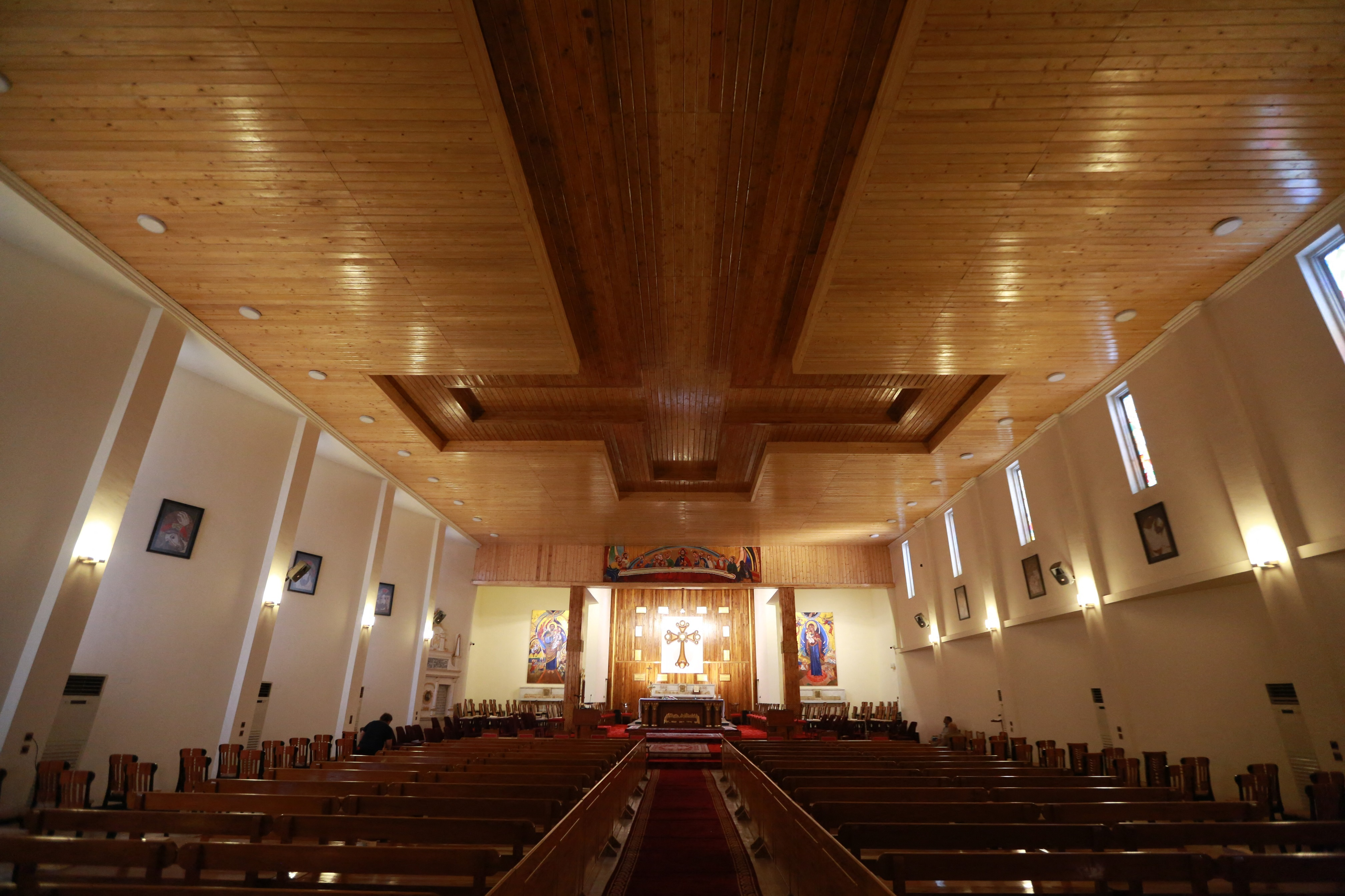 Eglise Saint-Joseph à Mossoul.