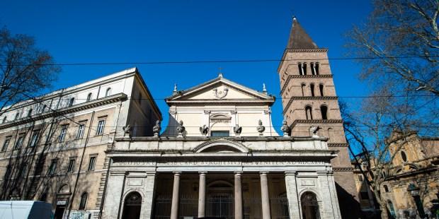 Diapo : basilique Saint-Chrysogone à Rome