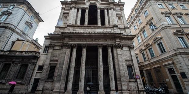 Diapo : basilique Sainte-Marie de la via Lata à Rome
