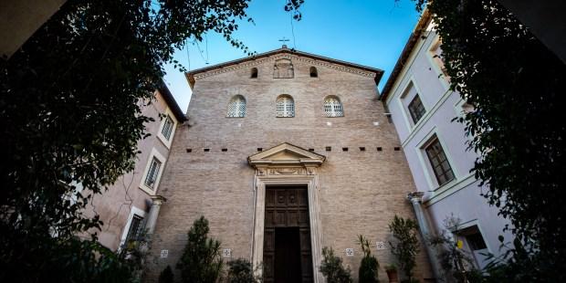 Diapo : basilique Sainte-Praxède à Rome