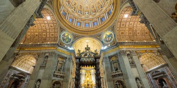 Diapo : basilique Saint-Pierre de Rome