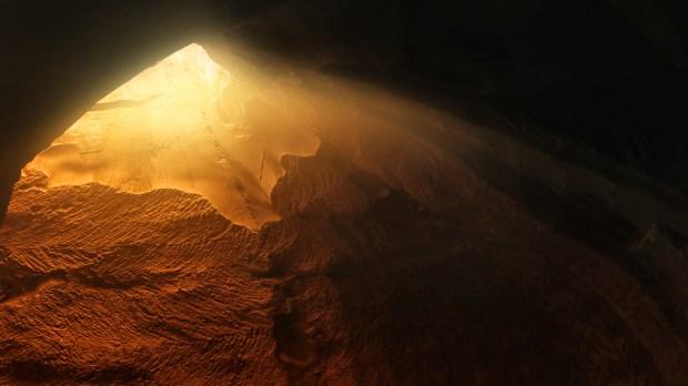 grotte de lumière