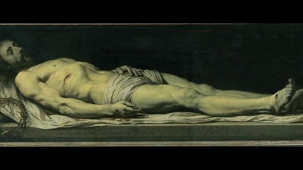 Le Christ mort, par Philippe de Champaigne