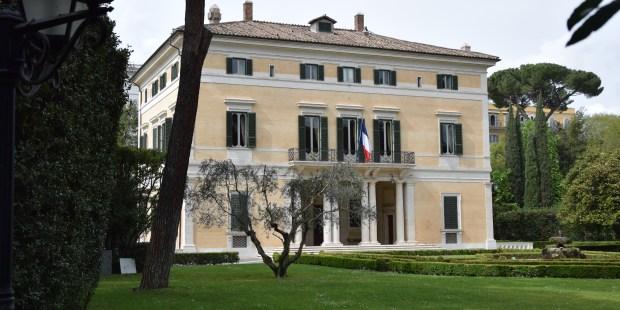 La Villa Bonaparte à Rome