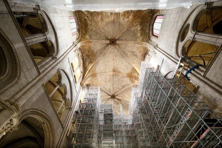 Intérieur de Notre-Dame de Paris