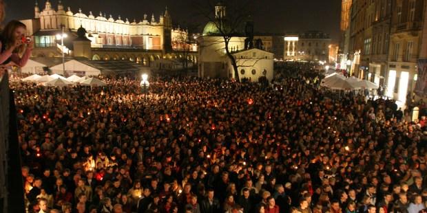 Le jour où Jean Paul II meurt : Paris Match à Cracovie