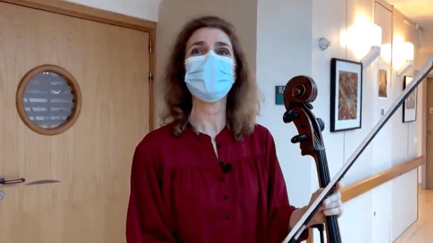 Violoncelliste Claire Oppert