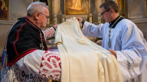Relique de Jean Paul II, Sanctuaire de la Divine Miséricorde Gallardon