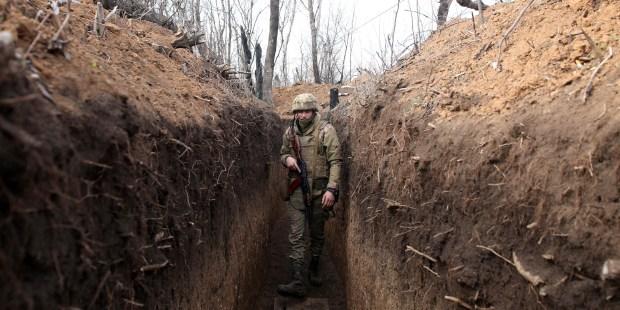 SOLDAT EN UKRAINE