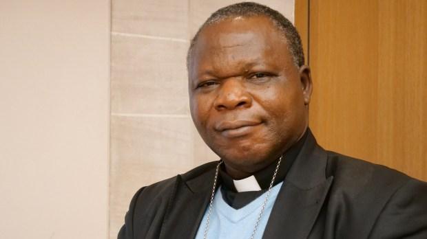 Mgr Dieudonné Nzapalainga - archevêque de Bangui