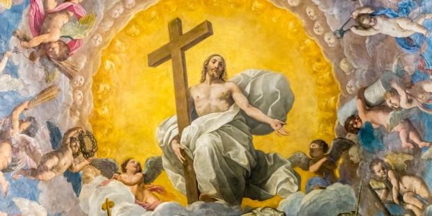 christ avec sa croix