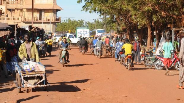 Le marché de Mopti