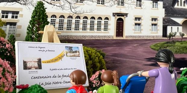 Playmobil Abbaye de la joie Notre-Dame