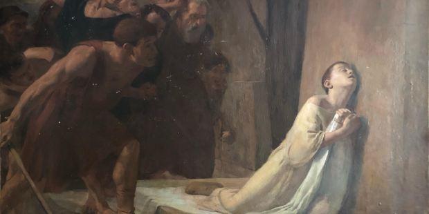 Le martyre de saint Tarcise