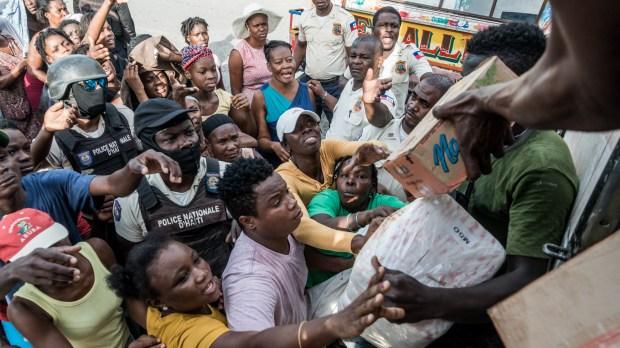 Haïti distribution nourriture Food distribution haïti