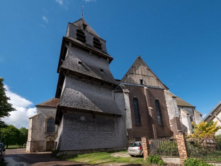 Collégiale Notre-Dame de Villemaur-sur-Vanne.