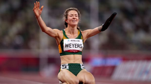Anrune Weyers Paralympics Tokyo 2020